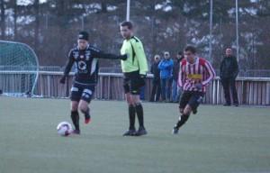 VBK spilte treningskamp mot Randaberg torsdag. Foto: Per Thime
