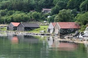 Det er flere flotte steder på øya, som her. FOTO: PER THIME